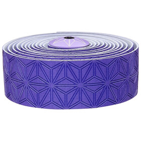 Supacaz Super Sticky Kush Starfade Handlebar Tape, neon purple